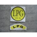 Samolepky LPG - sada