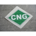 Natural Gas Label